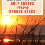 Orange Beach vs Gulf Shores