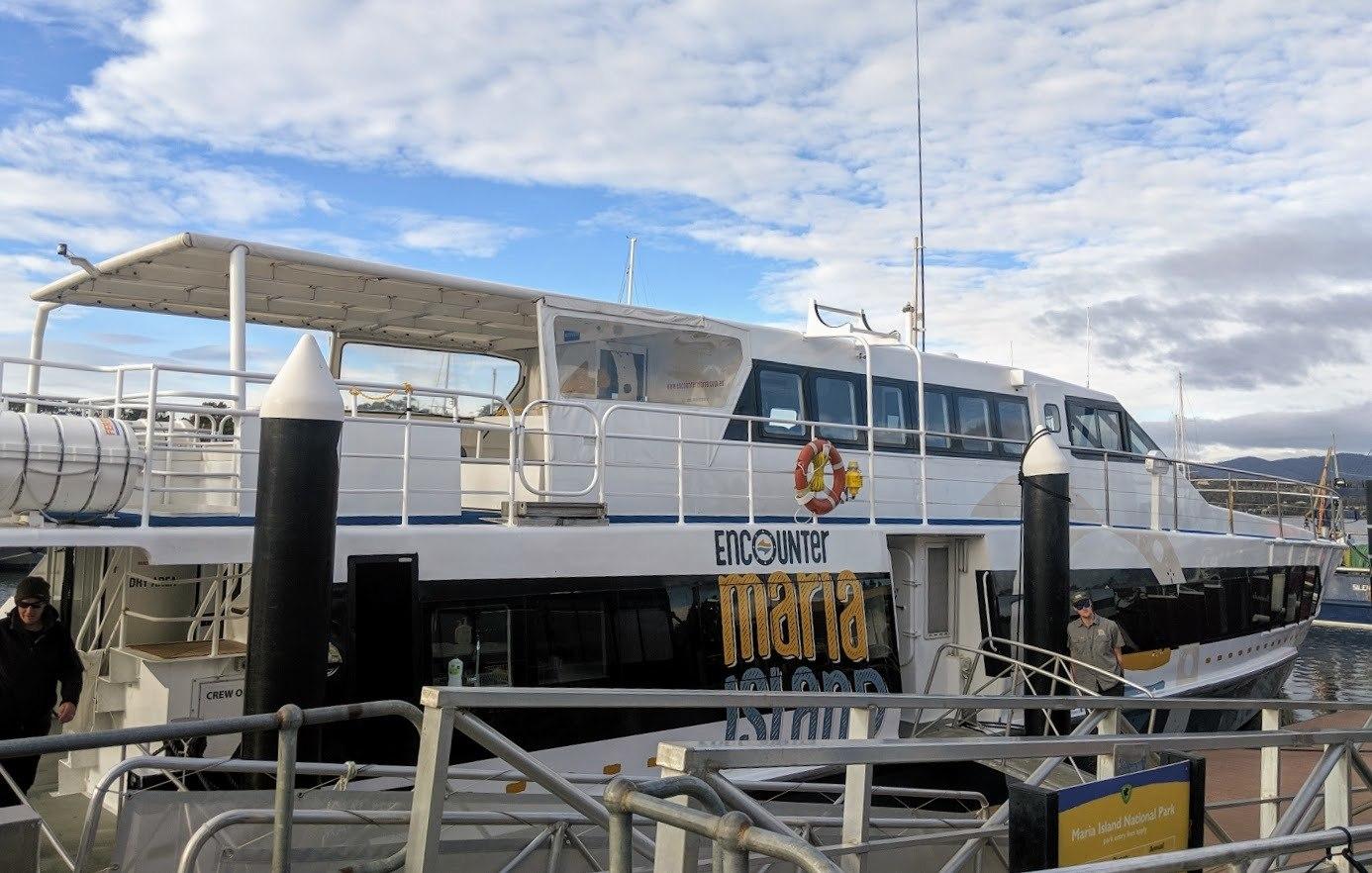 ferry maria island
