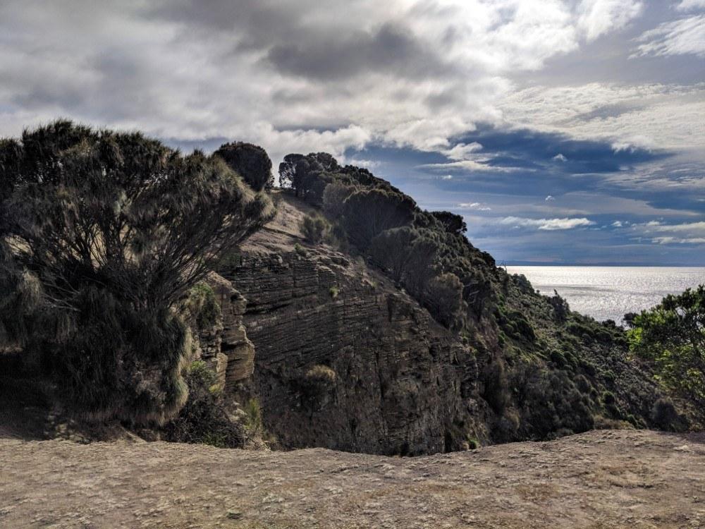 maria island walk to fossil cliffs