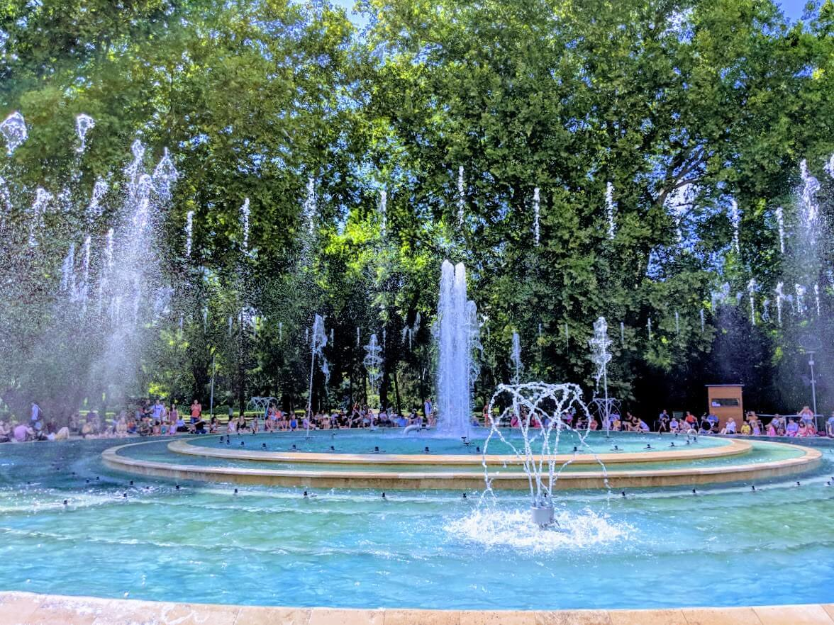 Fountains on Margaret Island, Budapest