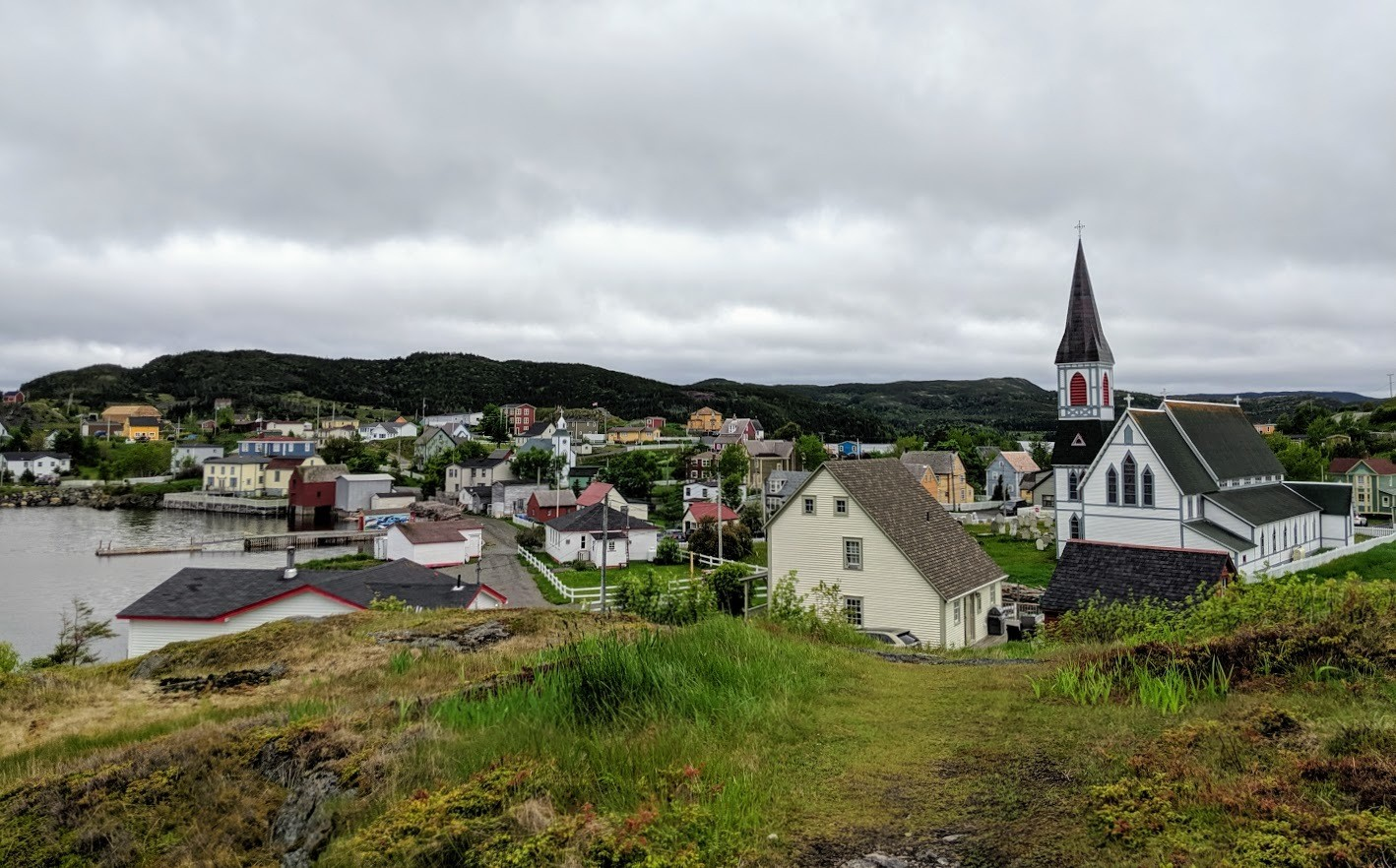 overlooking trinity newfoundland
