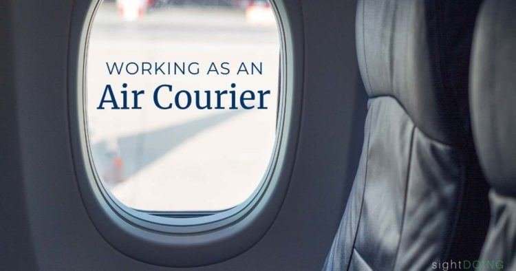 working as an air courier title image