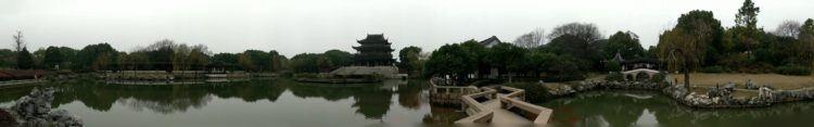 empty gardens in suzhou china