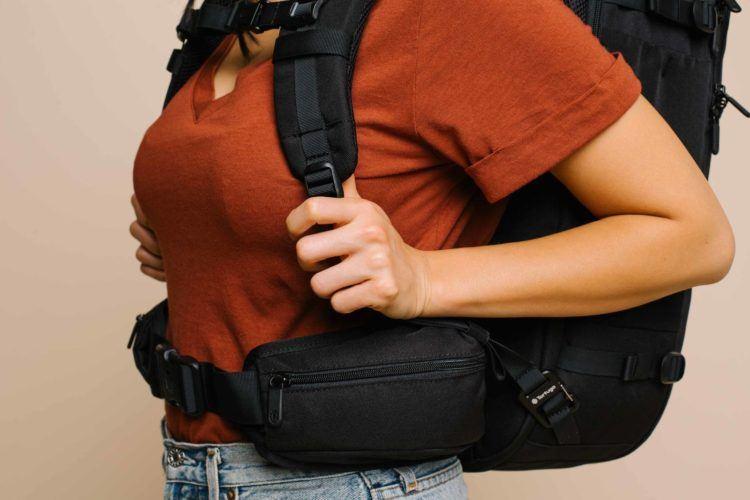 hip belt on carry on backpack