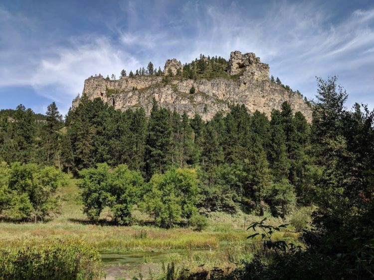 Views along the Spearfish Canyon Scenic Byway
