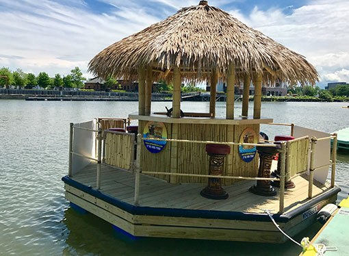 Buffalo Tiki Hut Boat