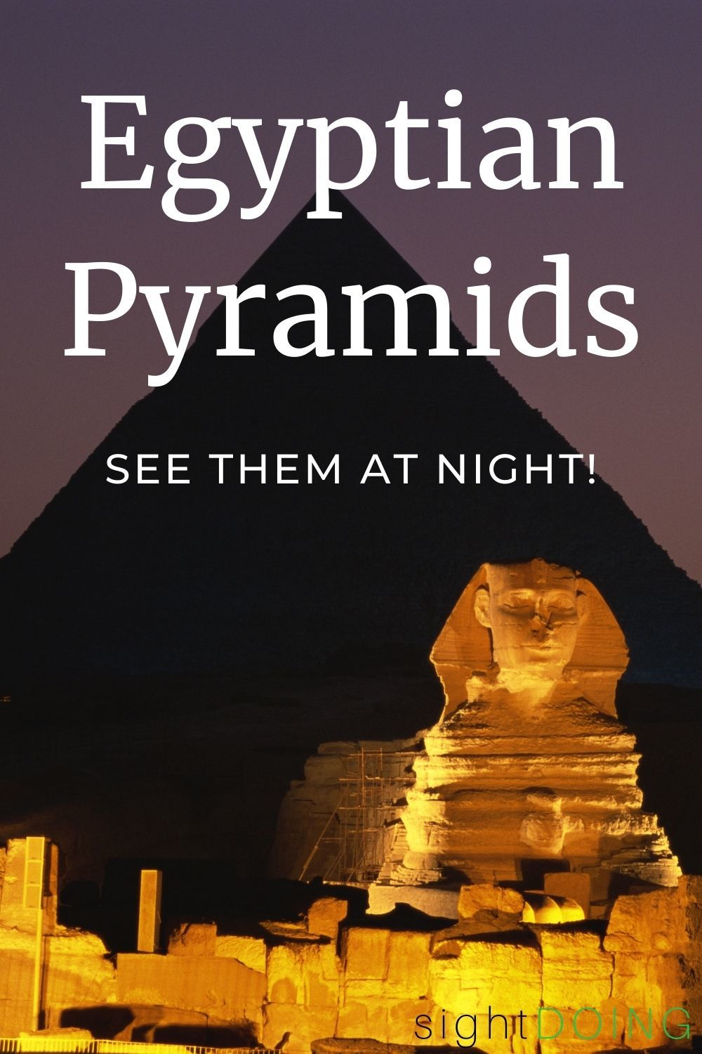 pinterest egyptian pyramids at night