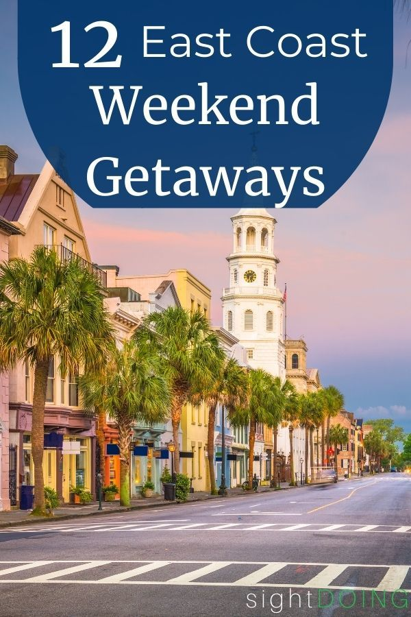 pinterest weekend getaways graphic
