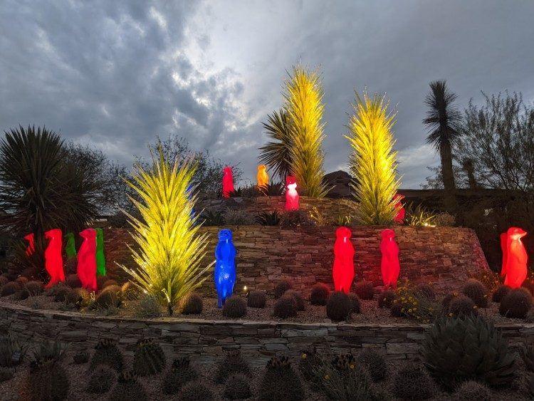 desert botanical garden exhibit