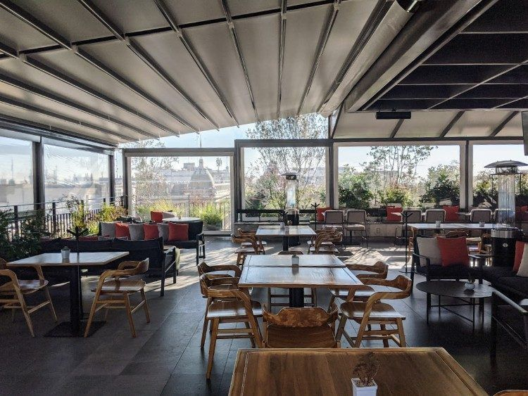 la terraza restaurant hotel umbral