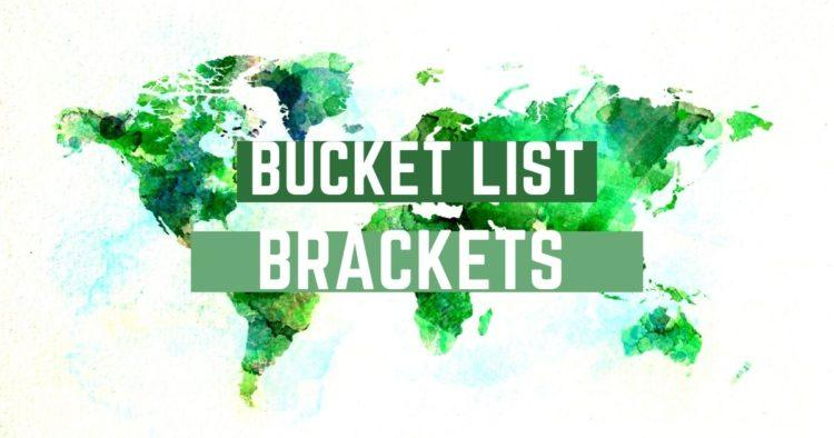bucket list bracket