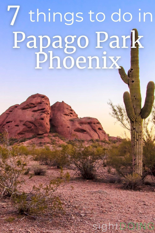 cactus papago park pinterest