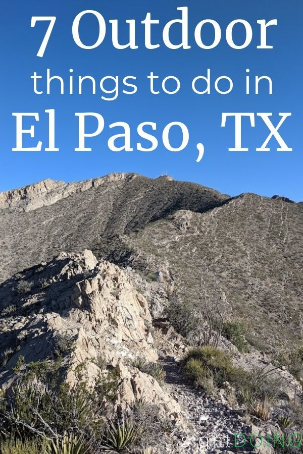 pinterest image outdoor things to do in el paso