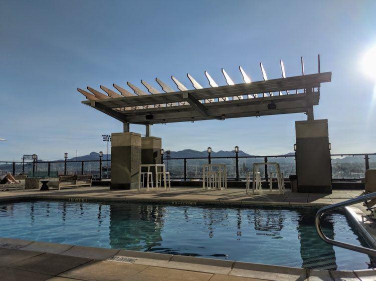 Pool at courtyard hotel el paso