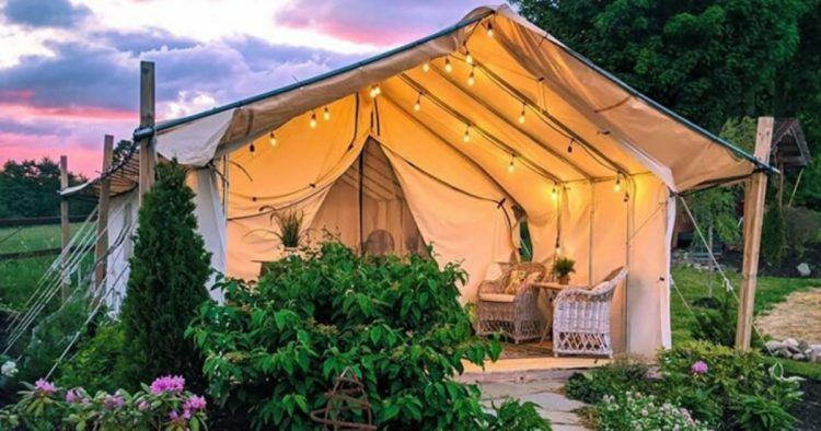 Ithaca Glamping tent