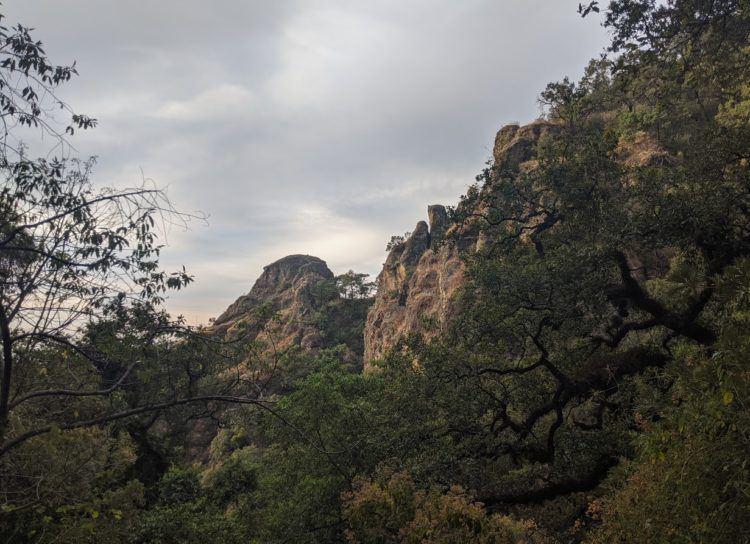 hiking to tepozteco