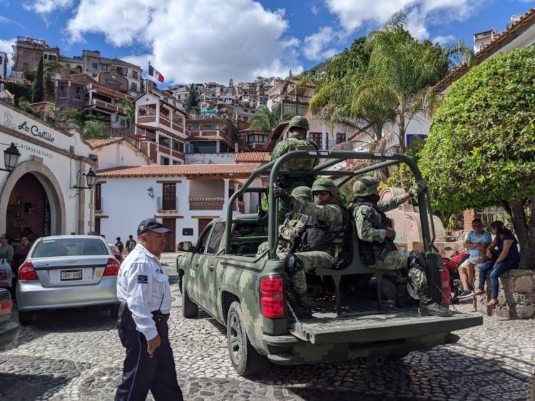 police in taxco guerrero