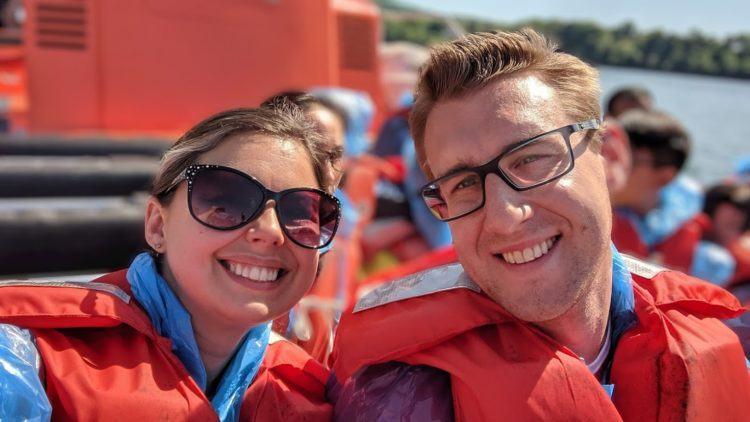 Onboard the Whirlpool WetJet