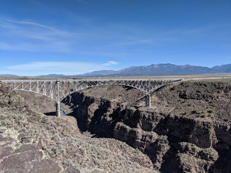 rio grande gorge bridge taos