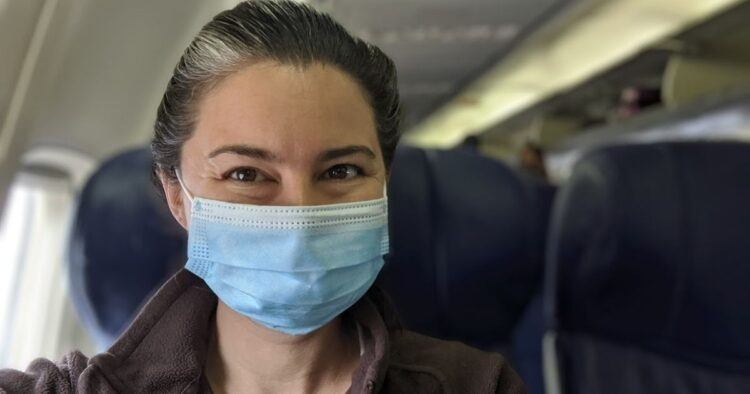 Empty Plane with Mask