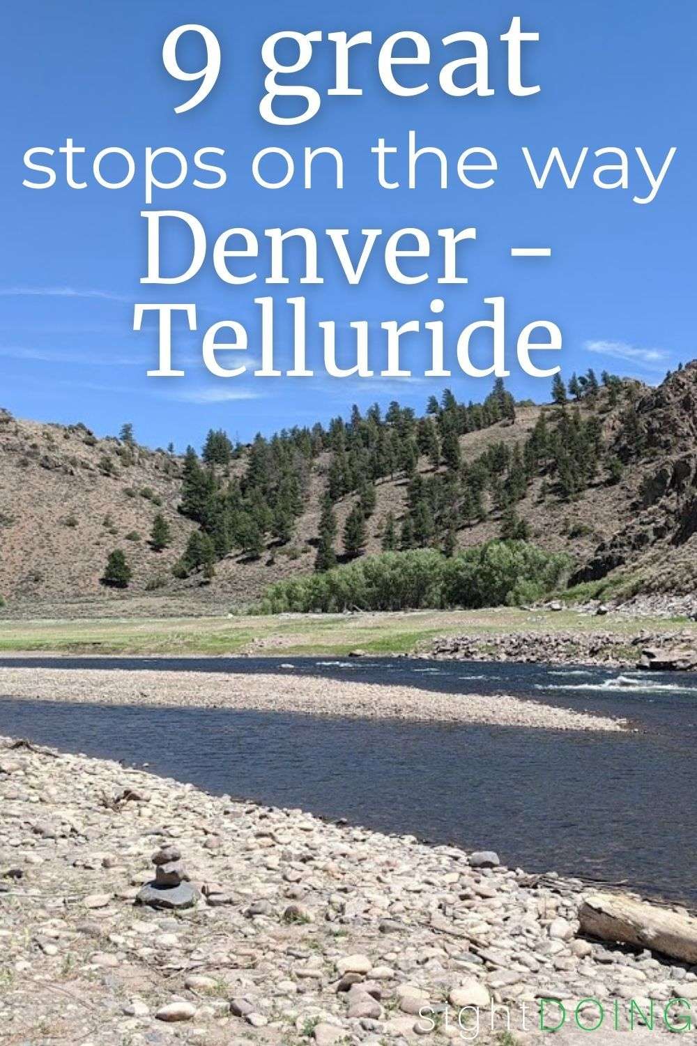 pinterest stops between denver and telluride