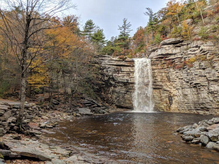 minnewaska waterfall