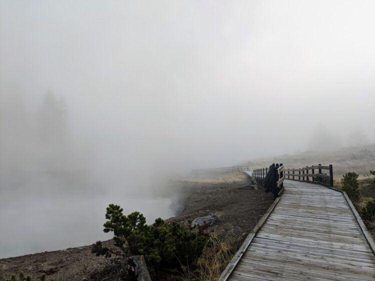 mud volcano boardwalks