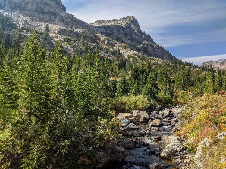 cascade canyon creek