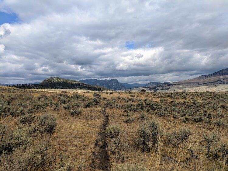 garnet hill loop yellowstone