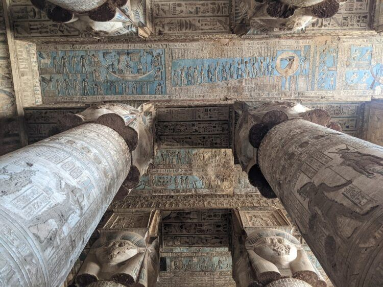 dendera ceiling art