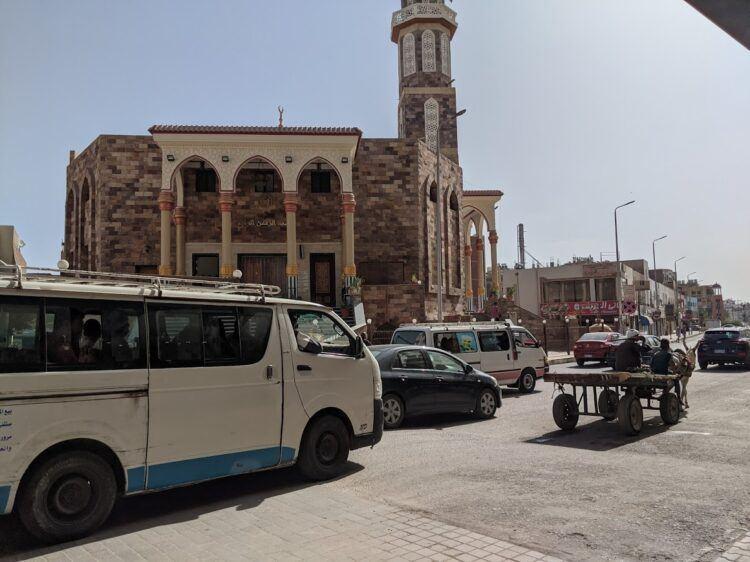 street scene in hurghada