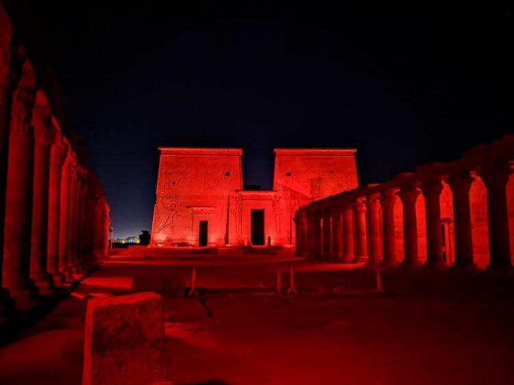 philae temple light and sound show