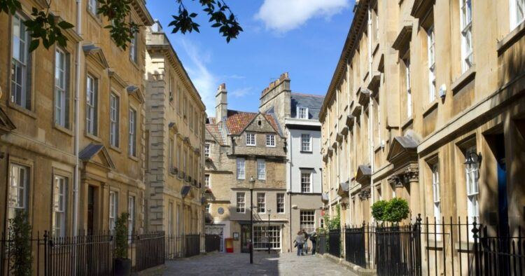 picturesque bath streets
