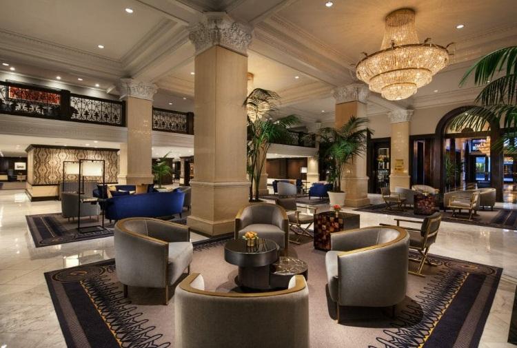 san diego luxury hotel lobby