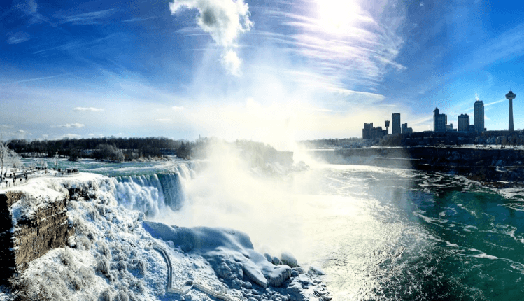 View from the Niagara Falls Observation Tower