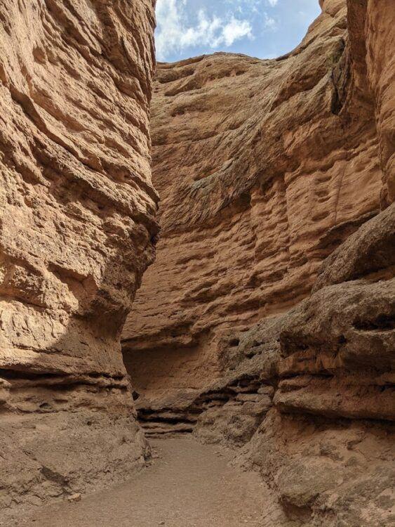 red walls at san lorenzo canyon