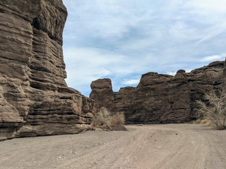 san lorenzo canyon entrance
