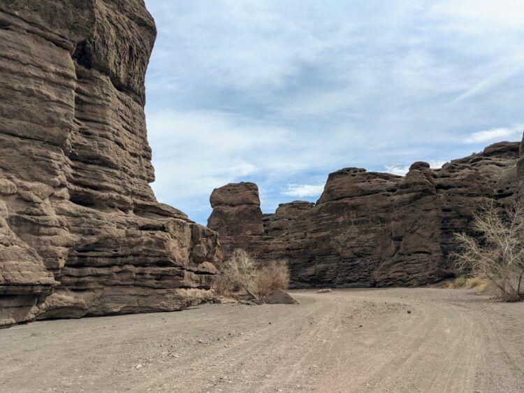 san lorenzo canyon entrance