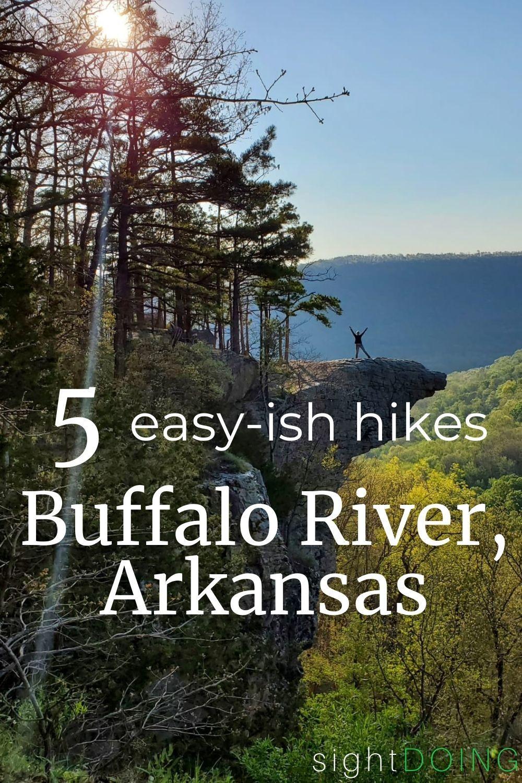 buffalo river hikes pinterest