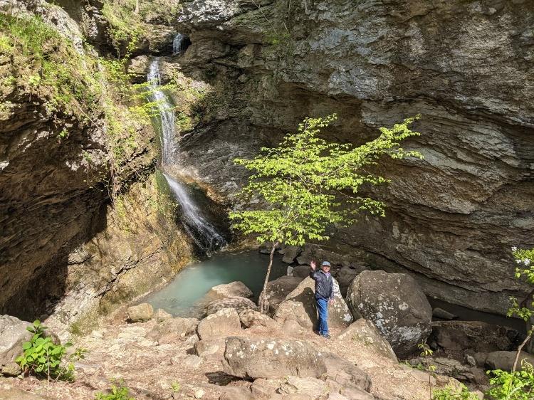 eden falls buffalo river hike