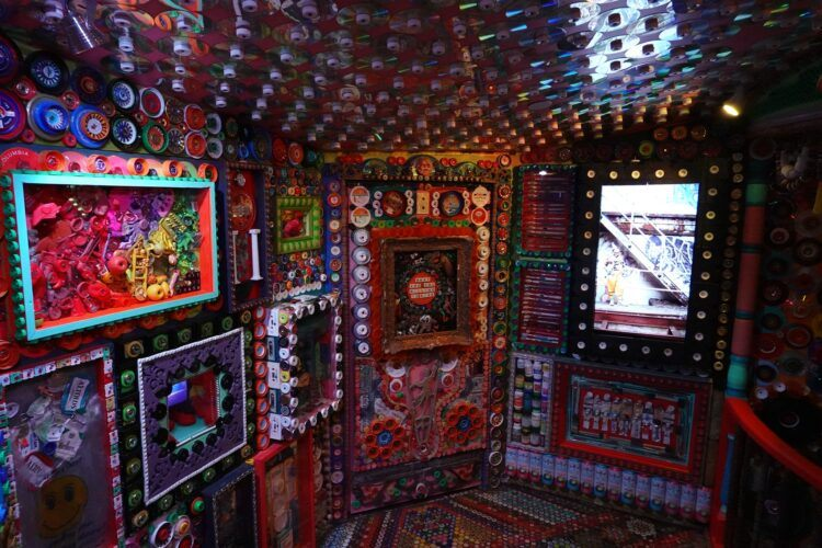 santa fe meow wolf recycled materials
