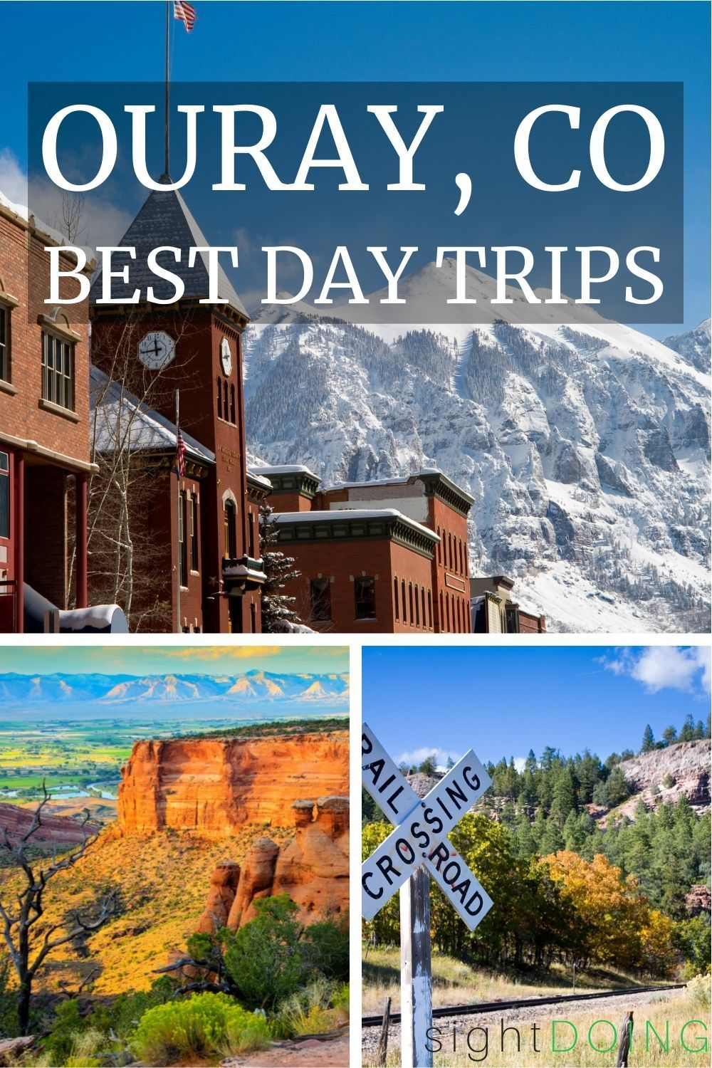 best day trips from ouray colorado pinterest