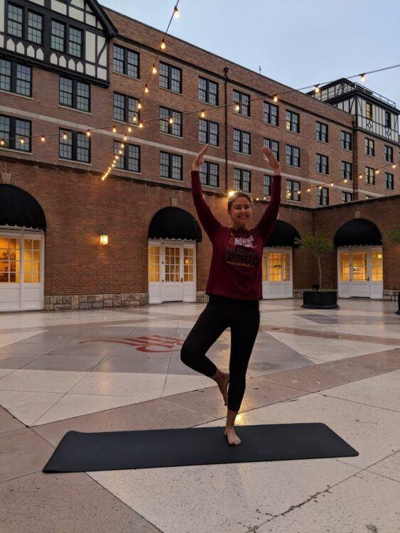 hotel roanoke yoga