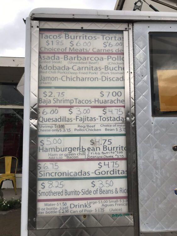 el mexicano leadville menu