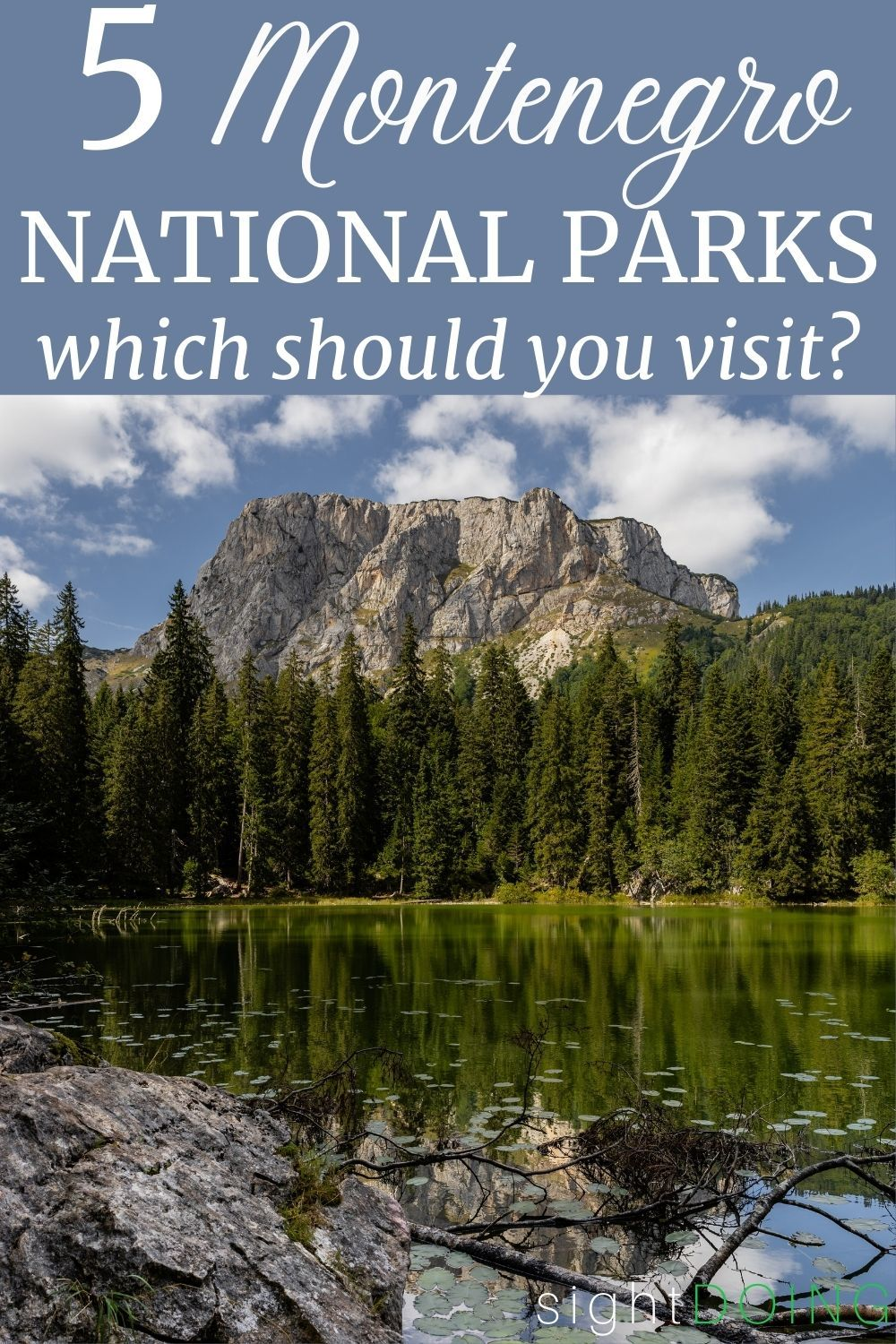 which national parks in montenegro to visit