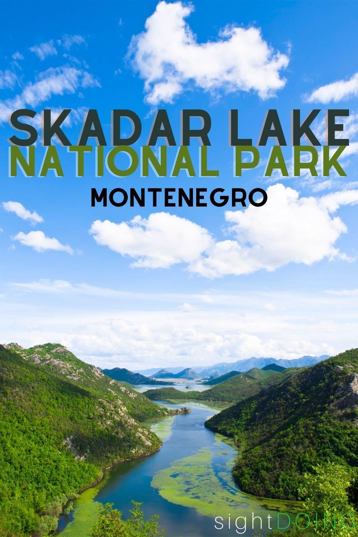 skadar lake pin montenegro