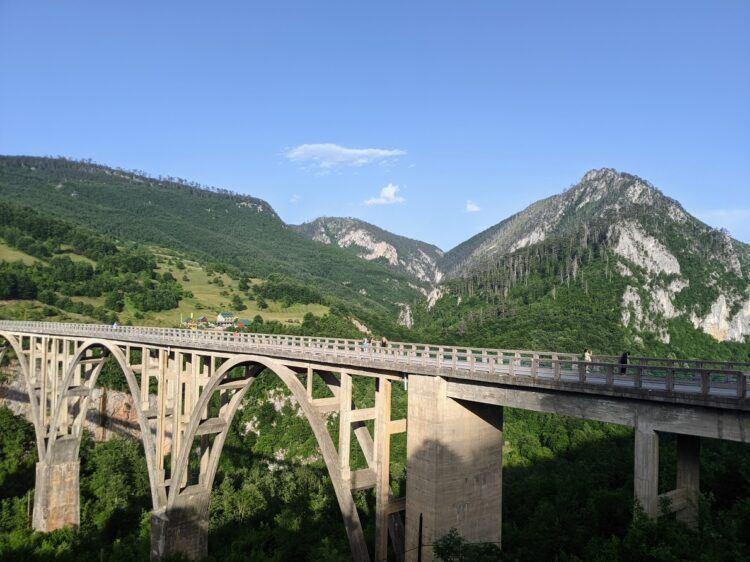Tara River Canyon Bridge