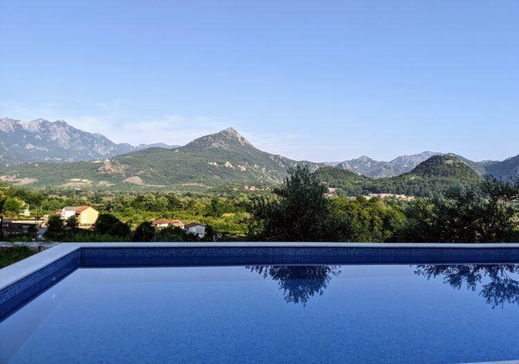 pool at cermeniza resort in virpazar montenegro