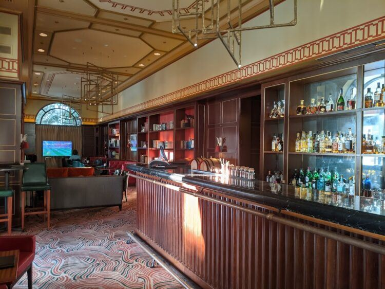 empty library bar