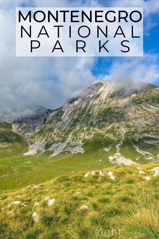 montenegro national parks pin